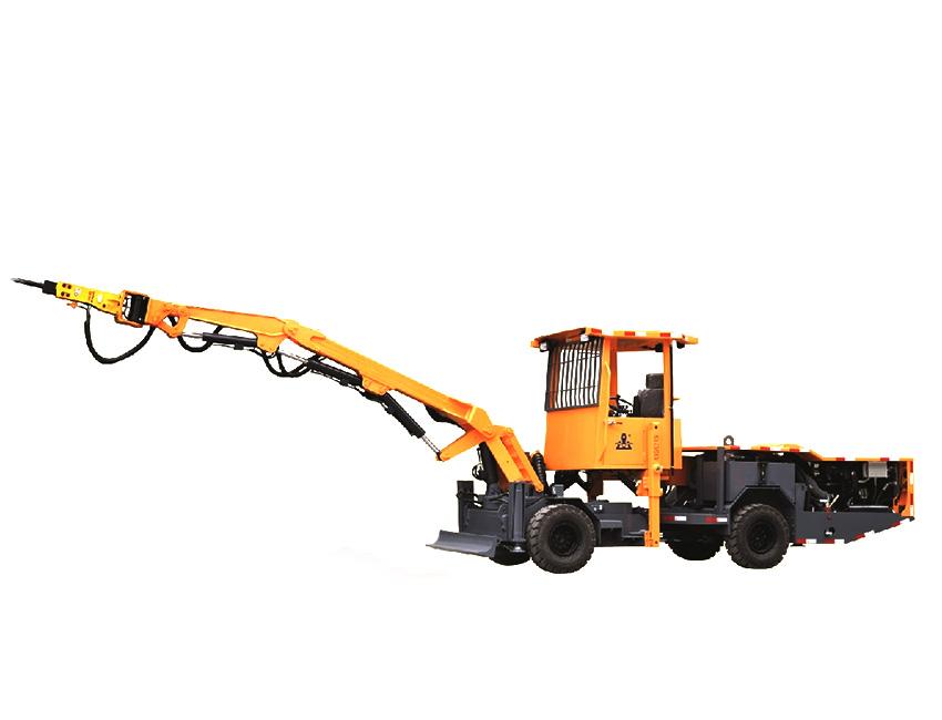 KQ211型全液压撬毛台车