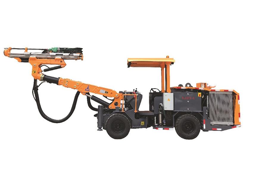 KJ311型全液压掘进钻车(全柴动型)
