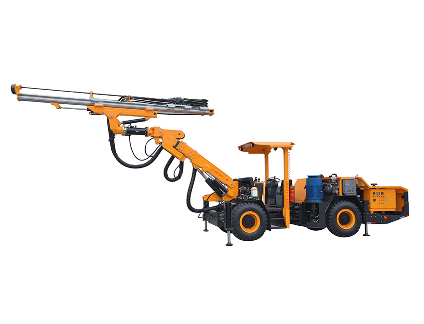 KJ311型全液压掘进钻车(增高型)