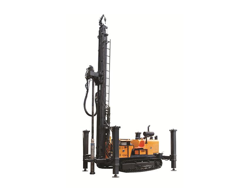 KW600型地热水井多功能钻车