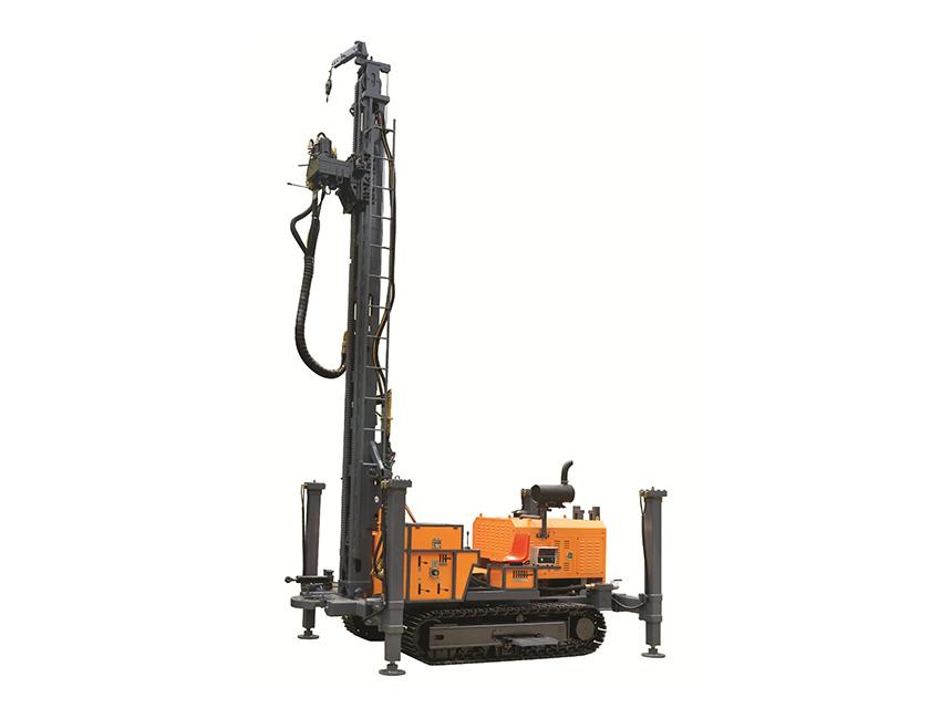 KW400型地热水井多功能钻车