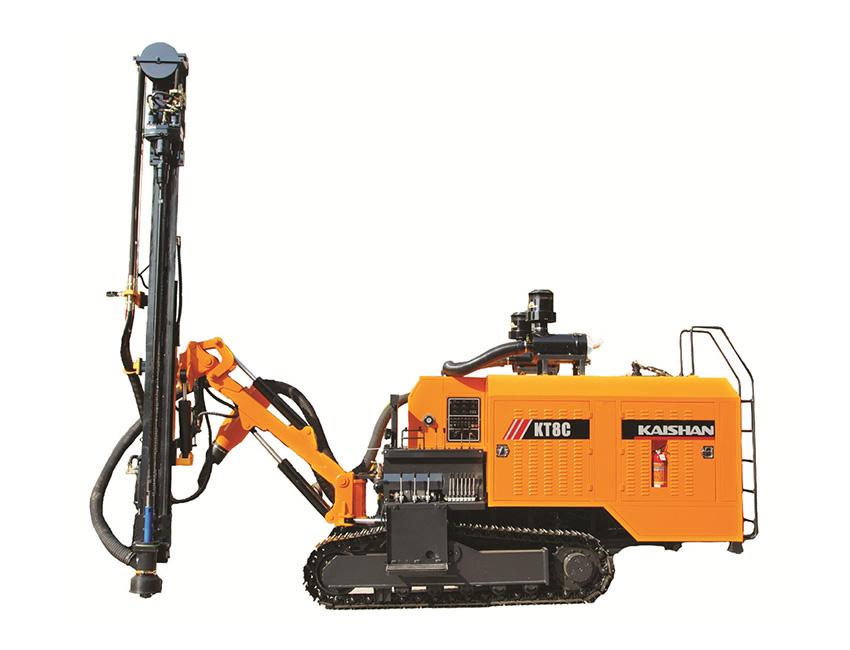 KT8C型一体式露天潜孔钻车