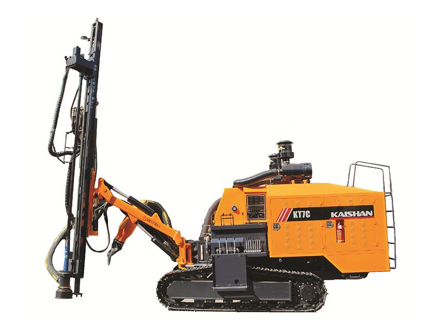 KT7C型一体式露天潜孔钻车